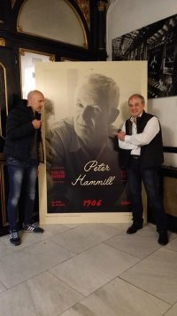 Madrid Peter Hammill poster