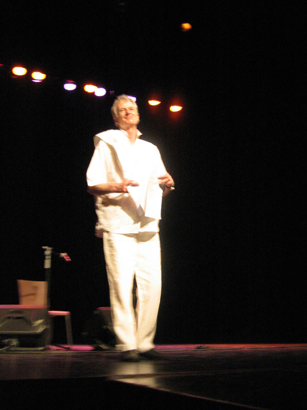Peter Hammill in Torre Pacheco 30.5.2008